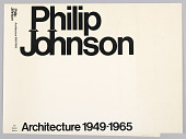 view Philip Johnson Architecture 1949–1965 digital asset number 1