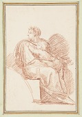 view Josiah with Jechoniah in his arms, ancestors of Christ from the Sistine Chapel ceiling by Michelangelo digital asset number 1
