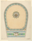 view Ceiling Decoration for a Florentine Theater digital asset number 1