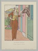 view Plate 7, Le Poney Favori (The Favorite Pony), Gazette du Bon Ton (Journal of Good Taste), Vol. 2, No. 11 digital asset number 1