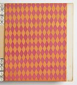 view Design for Plastic Laminate: Pink and Orange Harlequin digital asset number 1