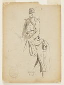 view Mounted Cavalry Officer digital asset number 1