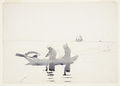view Two Figures in a Rowboat digital asset number 1