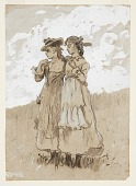 view Two Young Girls digital asset number 1