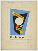 """view Design for """"Round the World Fly With Pan American"""" digital asset number 1"""