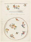 view Design for a Painted Porcelain Salad Bowl digital asset number 1