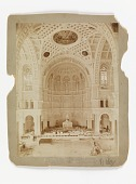 view View of the Interior of the Church of St. John the Baptist, Brooklyn, Looking Toward the Apse digital asset number 1