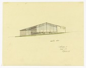 view North Elevation of a Split-Level House to be Erected in Palo Alto, California digital asset number 1