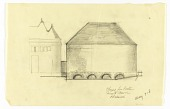 view Elevation of the Exterior of a Proposed Chapel for Trinity Church, Boston, Masssachusetts digital asset number 1