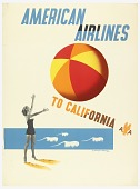 view American Airlines to California digital asset number 1