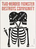 view Two-Headed Monster Destroys Community digital asset number 1