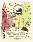 view Karl Schrag, Kraushaar Galleries, NYC digital asset number 1