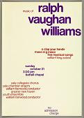 view Yale Collegiate Chorus - Music of Ralph Vaughn Williams digital asset number 1