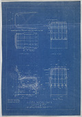 view Alfons Bach Archive: Blueprints for Lloyd Metal Chair digital asset number 1