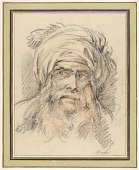 view Head of a Man in Turban digital asset number 1