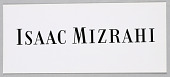 view Isaac Mizrahi: Logo digital asset number 1