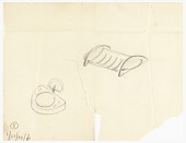 view Two Sketches of Wall Mounted Soap Dishes digital asset number 1