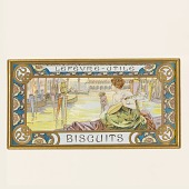 view Design for a box of Lefèvre-Utile biscuits digital asset number 1