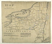 view Map of the State of New York digital asset number 1