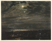 view Moonlit Coast (Possibly Maine) digital asset number 1