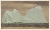 view Floating Icebergs Under Cloudy Skies digital asset number 1