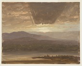 view Catskills from Hudson, New York digital asset number 1