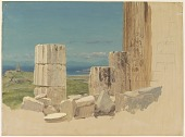 view Broken Columns, View from the Parthenon digital asset number 1