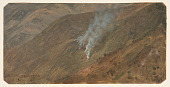 view Mountainside with Fire, Jamaica digital asset number 1