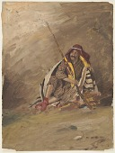 view Seated Bedouin digital asset number 1