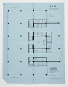 view Seagram's Building, 375 Park Avenue, New York, NY, USA: Proposed Floor Plan for 12th-15th Floors digital asset number 1