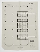 view Seagram's Building, 375 Park Avenue, New York, NY, USA: Proposed Floor Plan for 26th floor digital asset number 1