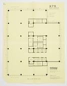 view Seagram's Building, 375 Park Avenue, New York, NY, USA: Proposed Floor Plan for 29th-38th Floors digital asset number 1