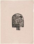 view Katalog der Ausstellung von Kleidern aus der Stickstube von Frau Eucken, Bremen... [Catalogue for Exhibition of Clothing from Mrs. Eucken's Embroidery Studio, Bremen] digital asset number 1
