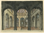 view Stage Design, Palace Courtyard digital asset number 1