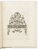 view Plate 3, from a series of designs for locksmith's ornament digital asset number 1
