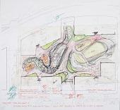 view Teardrop Park, New York, NY: Sketch of Aerial View digital asset number 1