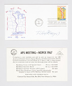 view Signed First Day Issue Envelope for United States Postal Service Great River Road Stamp digital asset number 1