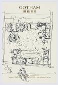 view Sketch of Martin and Mickey Friedman's Living Room, 18 East 12th Street, New York, NY digital asset number 1