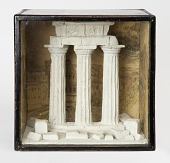 view Diorama with Model of Classical Temple Ruins digital asset number 1