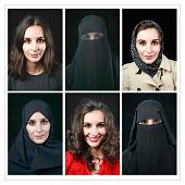 view True Self 2, hijab, niqab, without hijab digital asset number 1