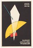 view 1923 Bauhaus Ausstellung Weimar (1923 Bauhaus Exhibition Weimar) digital asset number 1