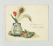 view Greeting Card: A Happy New Year! digital asset number 1