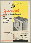 "view Der Transportable ""Iebe"" Sparherd [The ""Iebe"" Portable Stove] digital asset number 1"