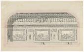 view Hall Decoration, Hotel des Menus-Plaisirs, for the Assemblee des Notables digital asset number 1