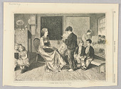 view A Country School, Illustration for Every Saturday (August 12, 1871, p. 164) digital asset number 1