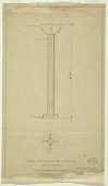 view Design for Floor Lamp, Topside Gallery, Abby Aldrich Rockefeller Apartment, 10 W 54th Street, New York, NY digital asset number 1