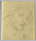 view Sketch of a Woman's Face digital asset number 1