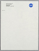 view National Aeronautics and Space Administration (NASA) Letterhead digital asset number 1