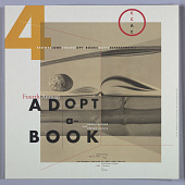 """view Poster for Fourth Annual """"Adopt-a-Book,"""" California College of Arts and Crafts, April 20, 1992 digital asset number 1"""