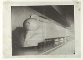 view Plasticine Wind Tunnel Model for a Streamlined K4s Class Locomotive, Pennsylvania Railroad digital asset number 1